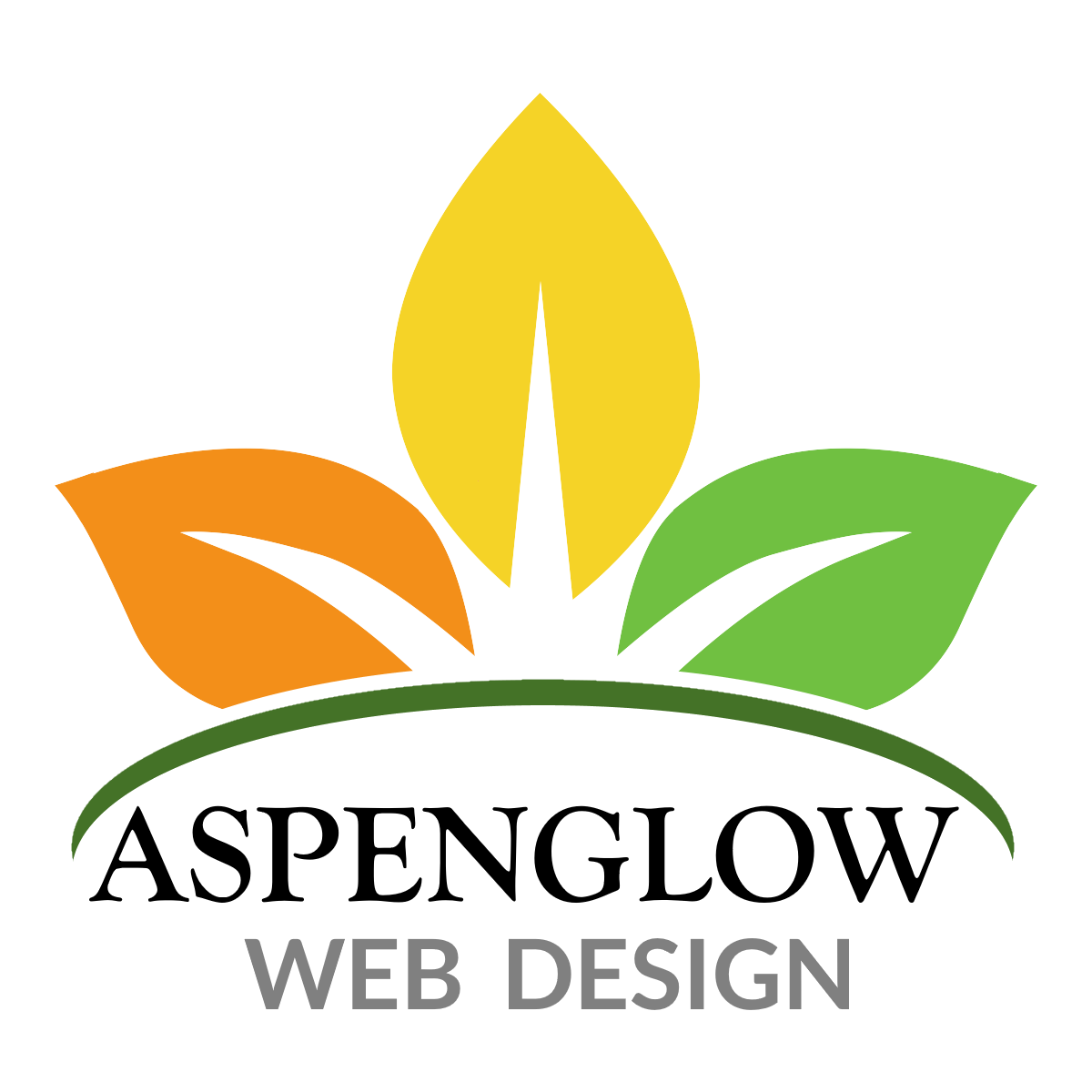 Aspenglow Web Design Logo