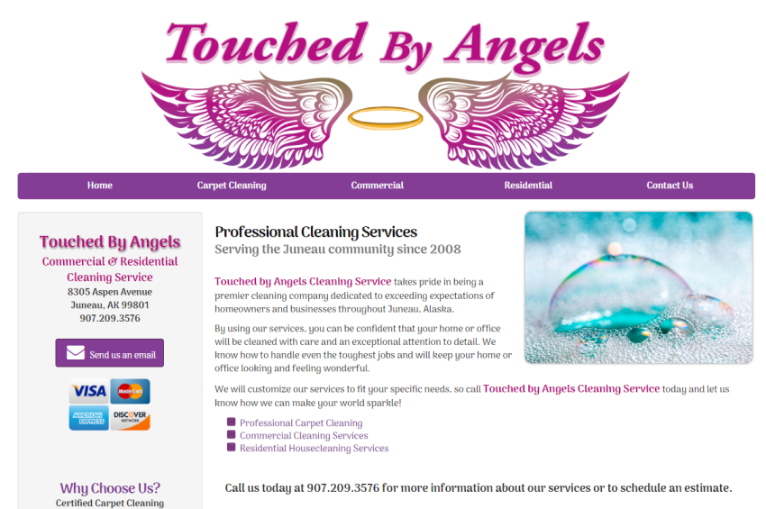 Touched by Angels Cleaning Service
