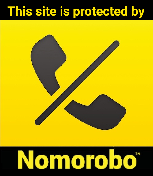 This site is protected by Nomorobo